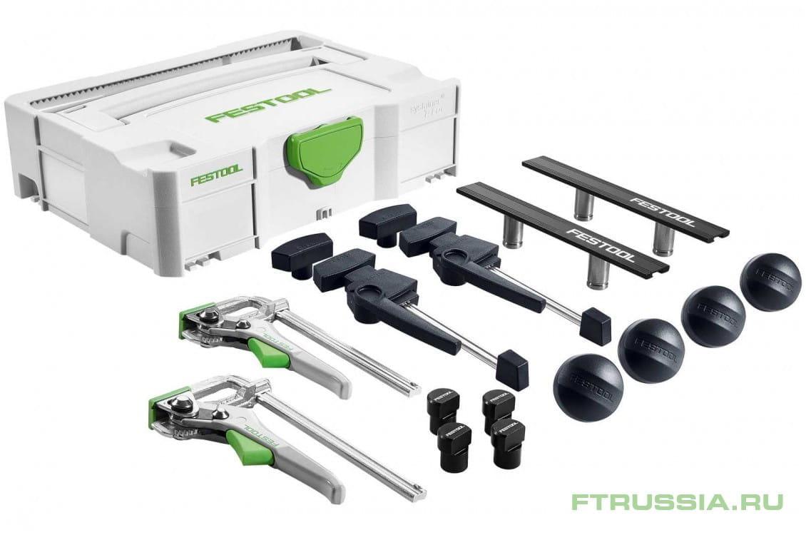 Набор для фиксации заготовок SYS-MFT Fixing-Set FESTOOL SYS-MFT-FX-Set