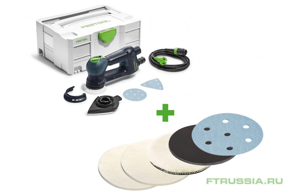 RO 90 DX FEQ-Plus + набор материалов 571819,488339,488341,202044,498325,498330 в фирменном магазине FESTOOL