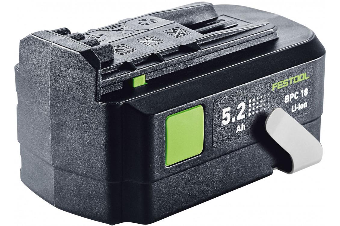 BPC 18 5.2 Ah-Li Ion 500435 в фирменном магазине FESTOOL