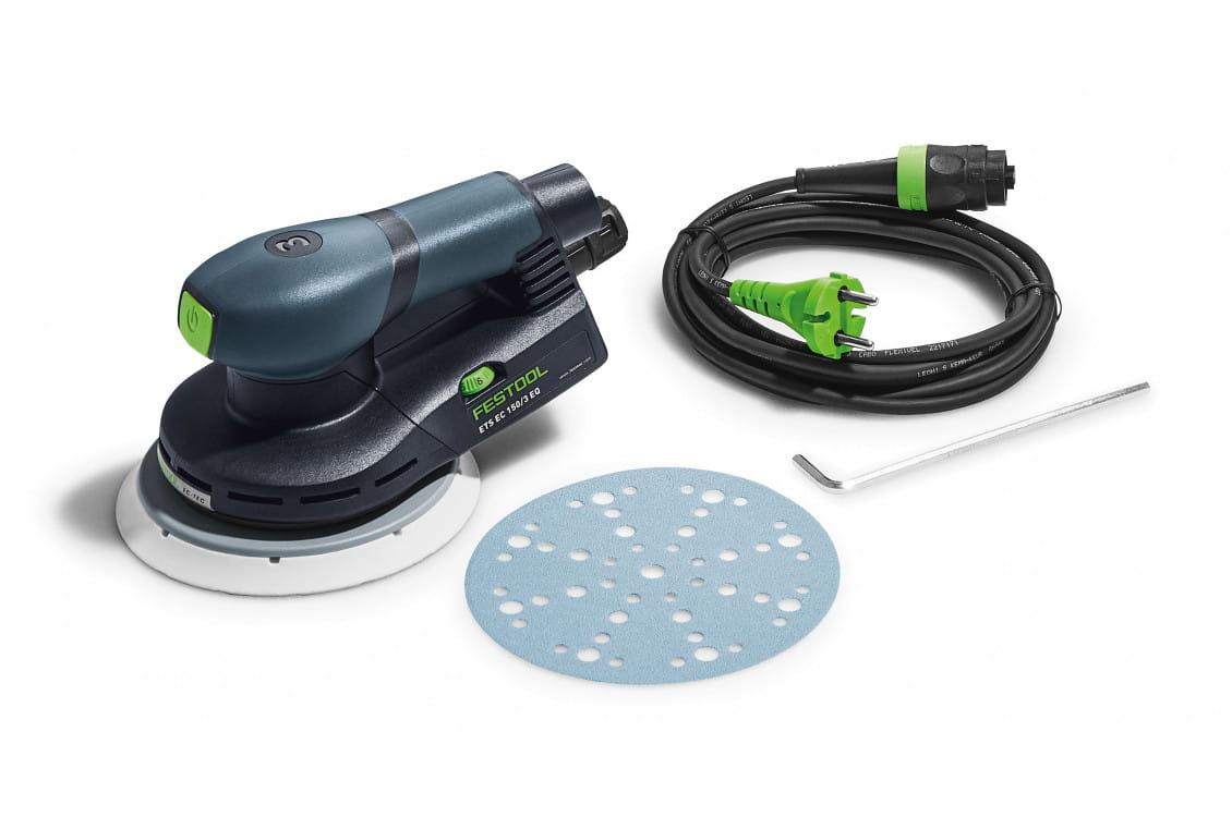 Машинка шлифовальная эксцентриковая электрическая FESTOOL ETS EC 150/3 EQ