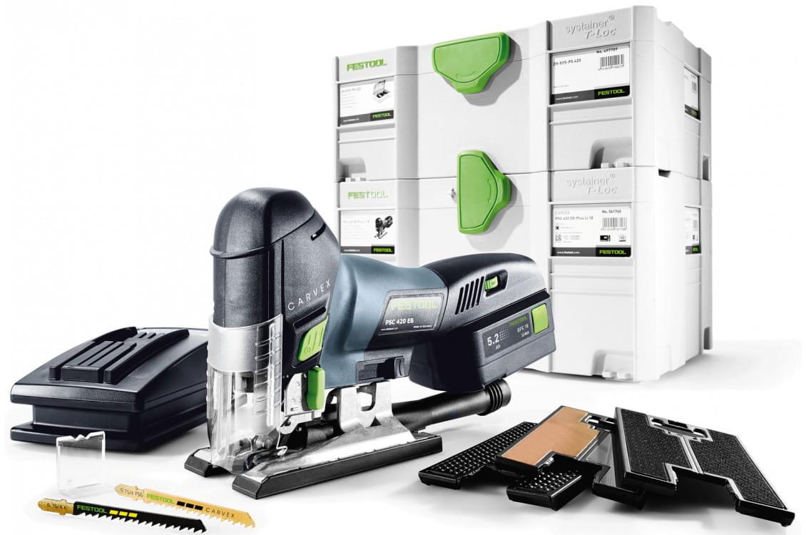 PSC 420 EB Li 18-Set 561740,574717,575743 в фирменном магазине FESTOOL