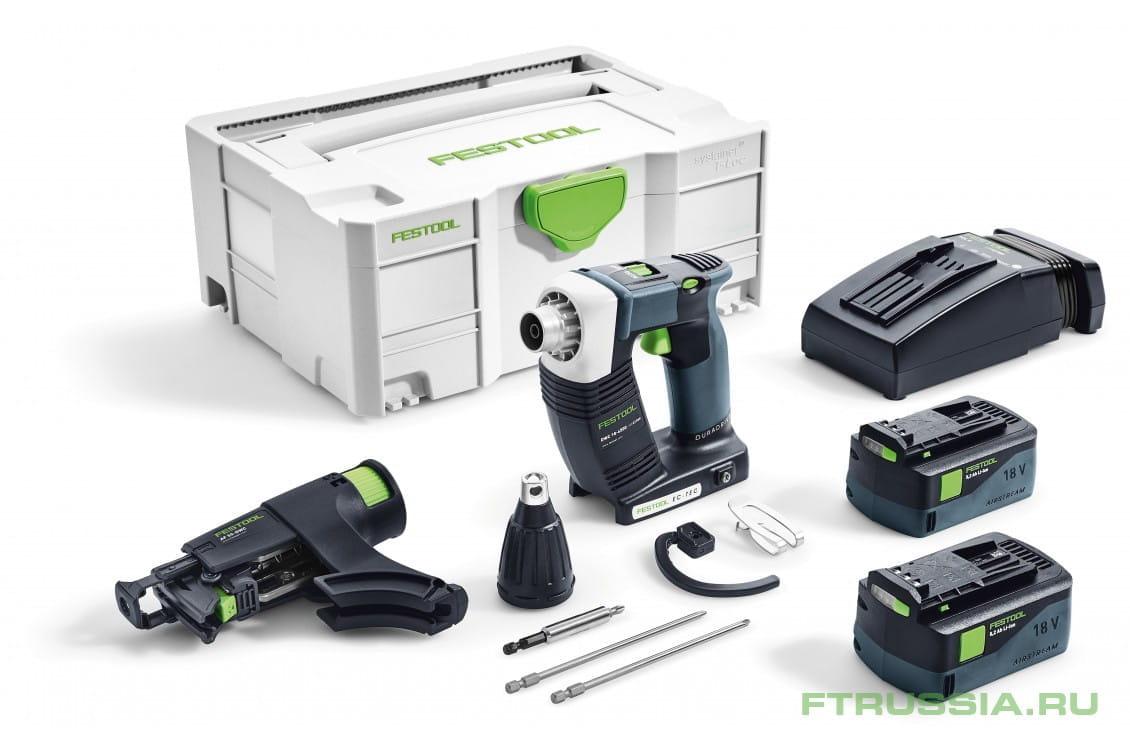 DWC 18-4500 Li 5,2-Plus 574745 в фирменном магазине FESTOOL