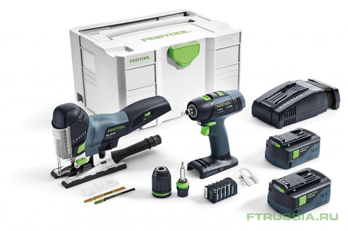 T 18+3/PSC 420 Li 5,2-Set 201404 в фирменном магазине FESTOOL