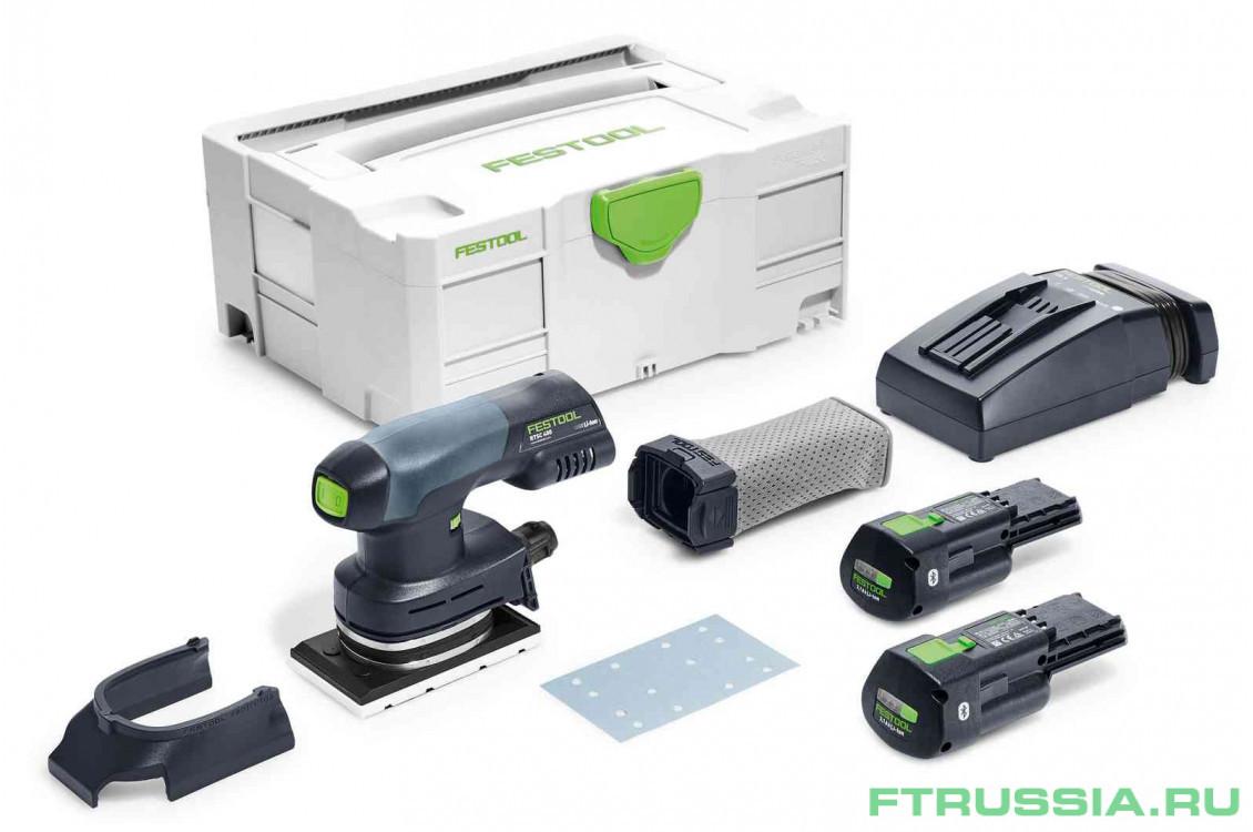 Машинка плоскошлифовальная аккумуляторная FESTOOL Rutscher RTSC 400 Li 3,1-Plus