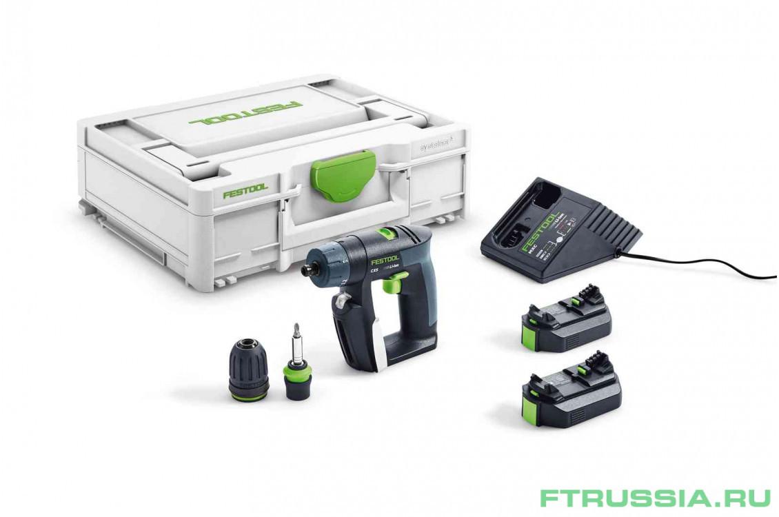 CXS 2,6-Plus 576092,564531 в фирменном магазине FESTOOL