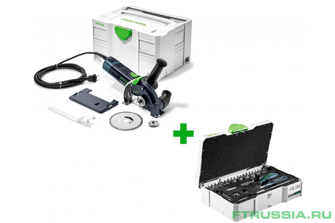 DSC-AG 125 FH-Plus + CENTROTEC 1/4-CE RA-Set 36 769954,497881 в фирменном магазине FESTOOL