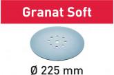 Круг шлифовальный FESTOOL STF D225 P80 GR S/25 Granat Soft