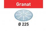 Круг шлифовальный FESTOOL STF D225/128 P80 GR/25
