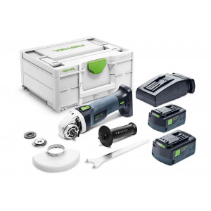 Машинка углошлифовальная аккумуляторная FESTOOL AGC 18-125 5,2 EB-Plus