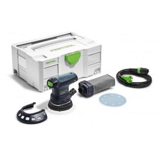Машинка шлифовальная эксцентриковая электрическая FESTOOL ETS 125 REQ-Plus