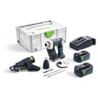 Шуруповерт аккумуляторный для гипсокартона FESTOOL DWC 18-2500 Li 5,2-Plus