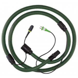 Шланг всасывающий антистатический с разъемом FESTOOL plug it D27x3,5m-AS