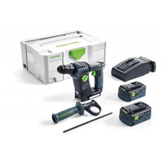 Перфоратор аккумуляторный FESTOOL BHC 18 Li 5,2-Plus