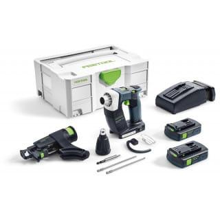 Шуруповерт аккумуляторный для гипсокартона FESTOOL DWC 18-2500 Li 3,1-Compact