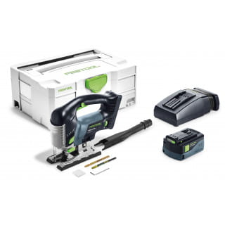 Лобзик маятниковый аккумуляторный CARVEX FESTOOL PSBC 420 Li 5,2 EB-Plus