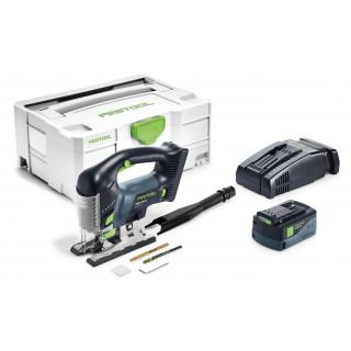Лобзик маятниковый аккумуляторный CARVEX FESTOOL PSBC 420 Li 5,2 EB-Plus-SCA