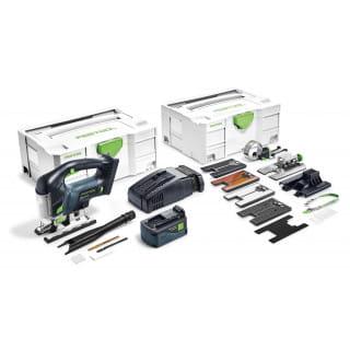 Лобзик маятниковый аккумуляторный CARVEX FESTOOL PSBC 420 Li 5,2 EBI-Set