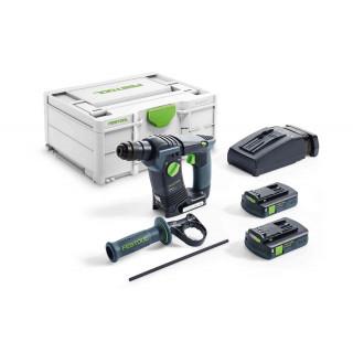 Перфоратор аккумуляторный FESTOOL BHC 18 C 3,1 I-Plus