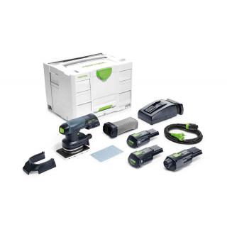 Машинка плоскошлифовальная аккумуляторная FESTOOL Rutscher RTSC 400 Li 3,1-Set