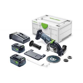 Система отрезная алмазная аккумуляторная FESTOOL DSC-AGC 18-125 FH 5,2 EBI-Plus