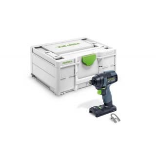 Дрель-шуруповерт импульсная аккумуляторная FESTOOL TID 18-Basic
