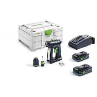 Дрель-шуруповерт аккумуляторная FESTOOL C 18 HPC 4,0 I-Plus