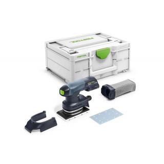 Машинка плоскошлифовальная аккумуляторная FESTOOL Rutscher RTSC 400-Basic