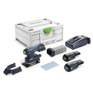 Машинка плоскошлифовальная аккумуляторная FESTOOL Rutscher RTSC 400 3,1 I-Plus