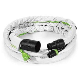Шланг всасывающий антистатический FESTOOL plug it D27/22x3,5m-AS-GQ/CT