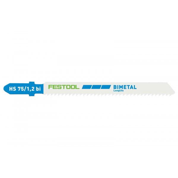 Полотно пильное для лобзика FESTOOL HS 75/1,2 BI/20