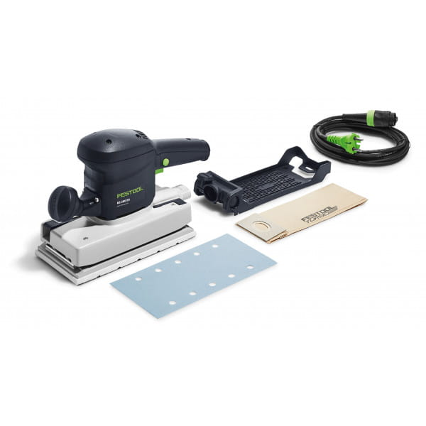 Машинка плоскошлифовальная электрическая RUTSCHER FESTOOL RS 200 EQ