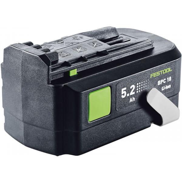 Аккумулятор FESTOOL BPC 18 5.2 Ah-Li Ion