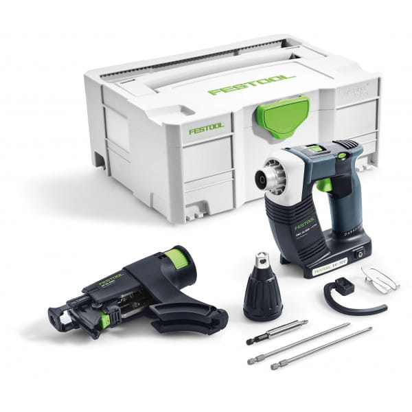 Шуруповерт аккумуляторный для гипсокартона FESTOOL DWC 18-2500 Li-Basic