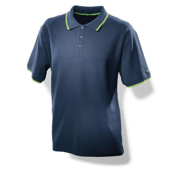 Футболка поло мужская синяя FESTOOL XL
