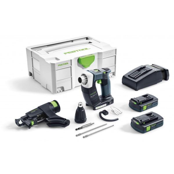 Шуруповерт аккумуляторный для гипсокартона FESTOOL DWC 18-4500 Li 3,1-Compact