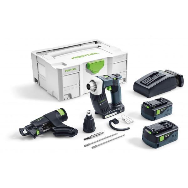 Шуруповерт аккумуляторный для гипсокартона FESTOOL DWC 18-4500 Li 5,2-Plus