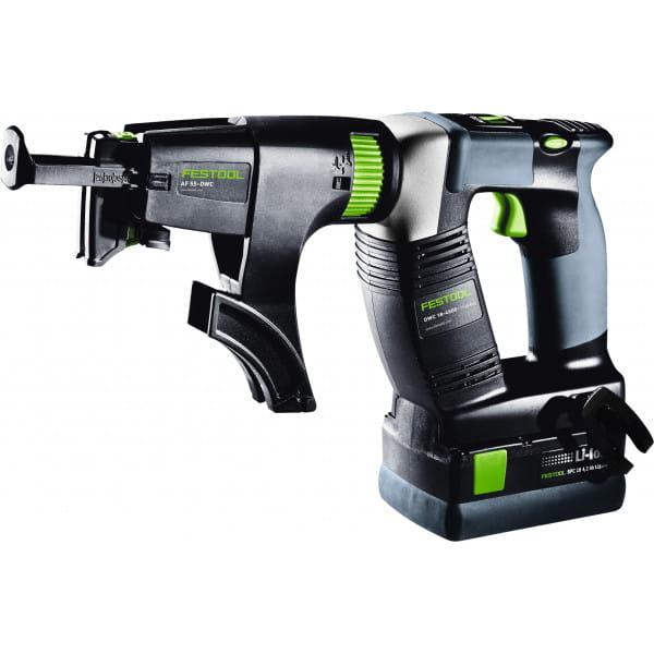 Шуруповерт аккумуляторный для гипсокартона DURADRIVE FESTOOL DWC 18-2500 Li 4,2 Set
