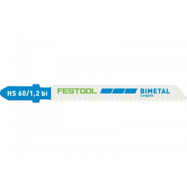 Полотно пильное для лобзика FESTOOL HS 60/1,2 BI/5