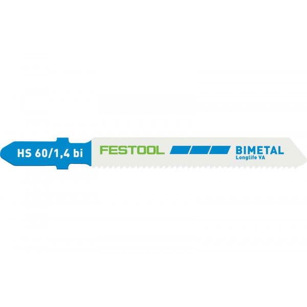 Полотно пильное для лобзика FESTOOL HS 60/1,4 BI VA/5