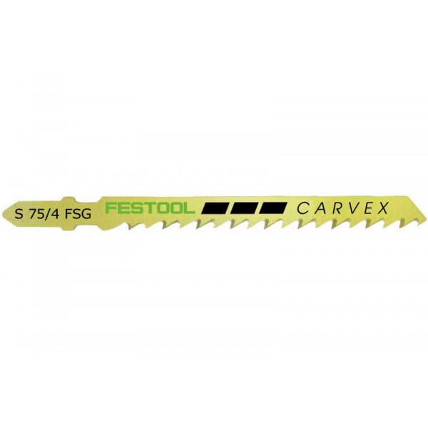 Полотно пильное для лобзика FESTOOL S  75/4 FSG  5X