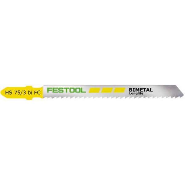 Полотно пильное для лобзика FESTOOL HS  75/3   BI-FC/5