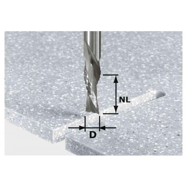 Фреза для черновой и чистовой обработки HW с хвостовик 12 мм FESTOOL HW Spi D12/42 LD ss S12
