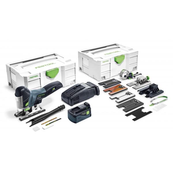 Лобзик маятниковый аккумуляторный CARVEX FESTOOL PSC 420 Li 5,2 EB-Set