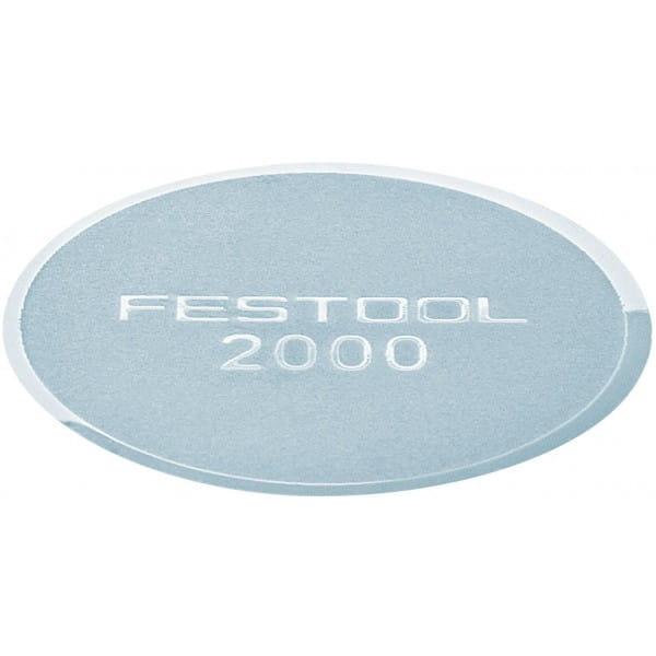 Лепесток шлифовальный FESTOOL SK D32-36/0 P2000 GR/500