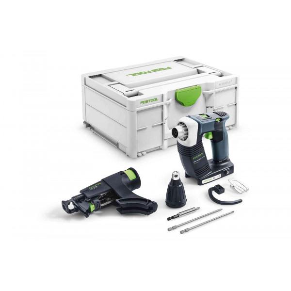 Шуруповерт аккумуляторный для гипсокартона DURADRIVE FESTOOL DWC 18-4500 Basic