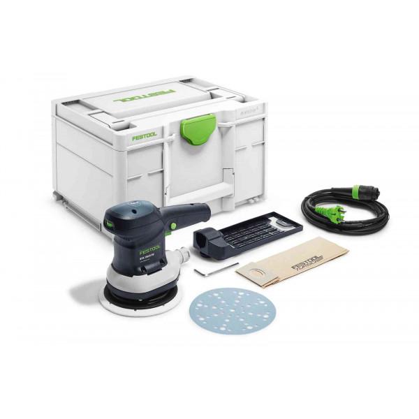 Машинка шлифовальная эксцентриковая электрическая FESTOOL ETS 150/5 EQ-Plus