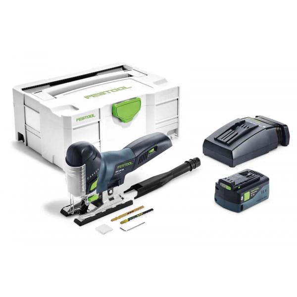 Лобзик маятниковый аккумуляторный CARVEX FESTOOL PSC 420 Li 5,2 EB-Plus