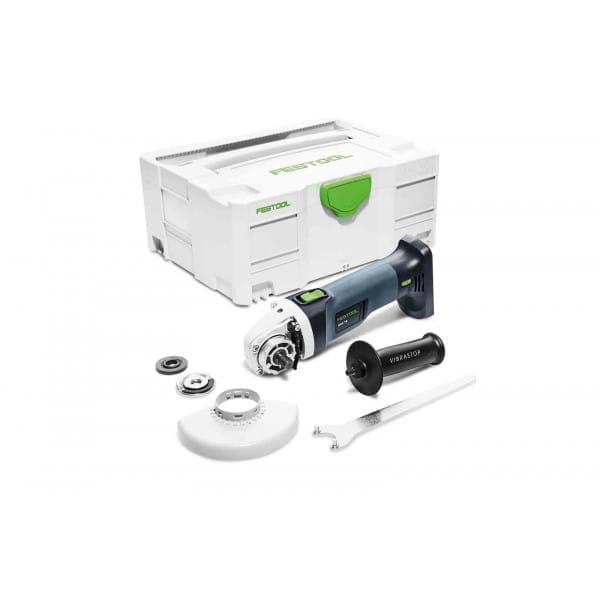 Машинка углошлифовальная аккумуляторная FESTOOL AGC 18-125 Li EB-Basic