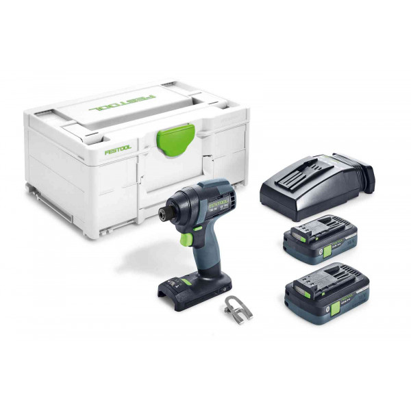 Дрель-шуруповерт импульсная аккумуляторная FESTOOL TID 18 HPC 4,0 I-Plus
