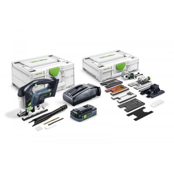 Лобзик маятниковый аккумуляторный CARVEX FESTOOL PSBC 420 HPC 4,0 EBI-Set